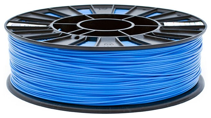 ABS пруток REC 1.75 мм голубой