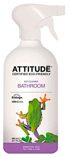 ATTITUDE спрей для ванных комнат Чайное дерево и лайм