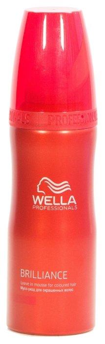 Wella Professionals BRILLIANCE Мусс-уход для окрашенных волос