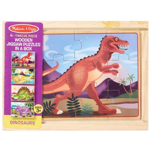 Набор пазлов Melissa & Doug Динозавры (3791) сланцы melissa melissa me485awdqvc1