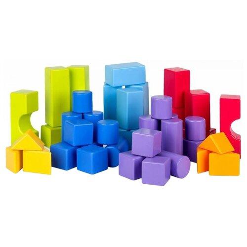 Купить Кубики Росигрушка Геометрические фигуры 9379, Детские кубики