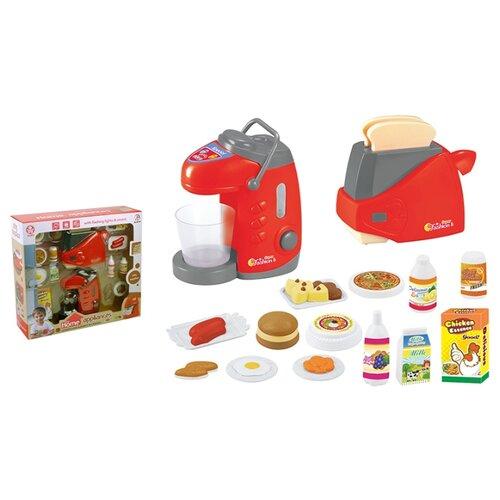 Купить Набор ABtoys Помогаю маме PT-00661(WK-C0295) красный/серый/бежевый/белый, Детские кухни и бытовая техника