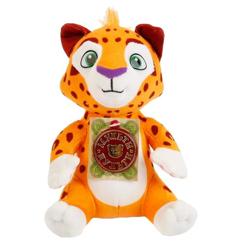 Купить Мягкая игрушка Мульти-Пульти Леопард Лео озвученый 20 см, Мягкие игрушки