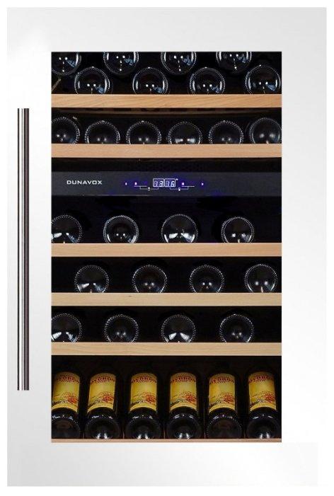 Встраиваемый винный шкаф Dunavox DX-57.146DWK