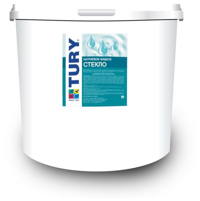 Добавка жидкое стекло TURY натриевое 20 кг