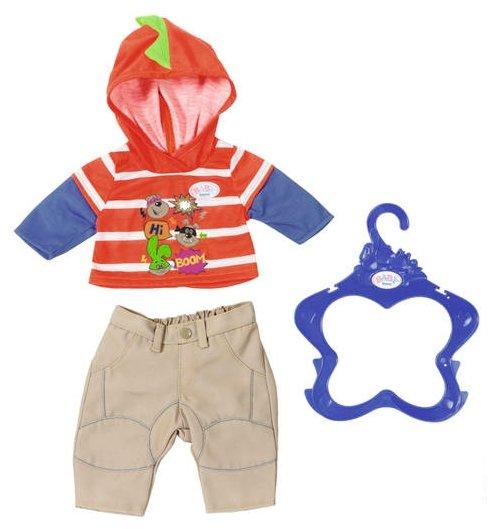 Zapf Creation Комплект одежды для мальчика Baby Born 824535 в ассортименте