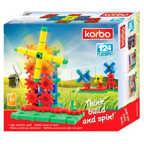 Купить Конструктор Korbo Blocks 124 Турбино, Конструкторы