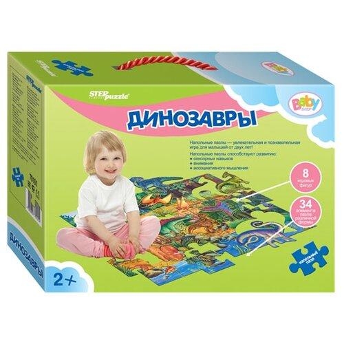 Пазл Step puzzle Динозавры (70101), 42 дет.Пазлы<br>