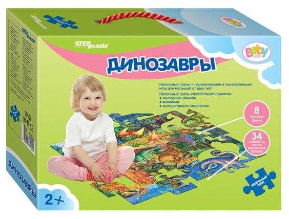 Пазл Степ напольный Динозавры 70101