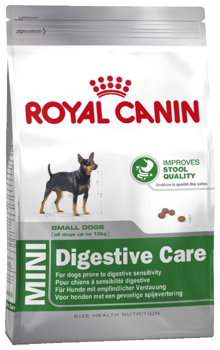 ROYAL CANIN MINI DIGESTIVE CARE 4 кг для взрослых собак мелких пород с чувствительным пищеварением сухой корм