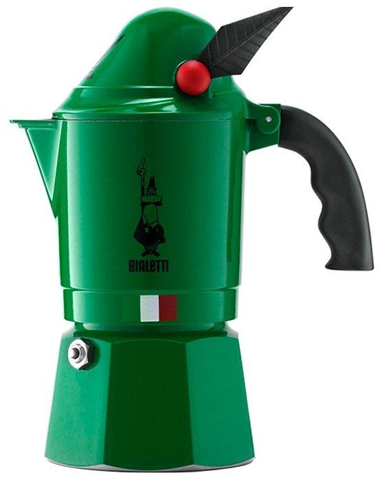 Гейзерная кофеварка Bialetti Break Alpina (3 порции)
