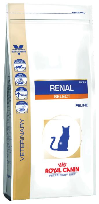 Корм для кошек Royal Canin Renal Select RSE 24 при лечении МКБ 2 кг — купить по выгодной цене на Яндекс.Маркете