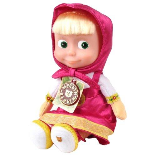 Купить Интерактивная кукла Мульти-Пульти Маша 5 фраз и песенка, в пакете, 29 см, V85833/30A, Куклы и пупсы