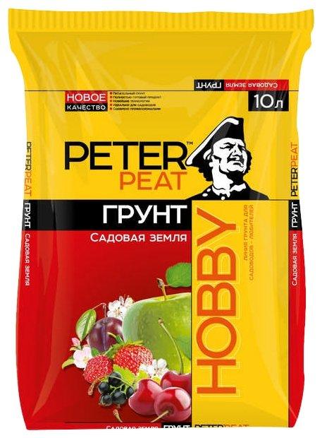 Грунт PETER PEAT Линия Hobby Садовая земля 10 л.