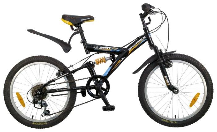 Подростковый горный (MTB) велосипед Novatrack Dart 20 (2015)