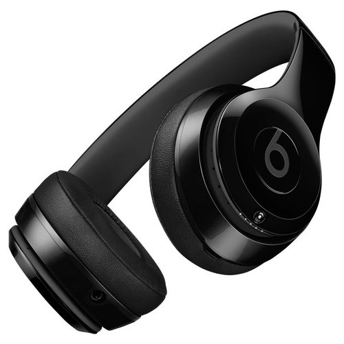 Беспроводные наушники Beats Solo2 Wireless глянцевый черный наушники apple beats solo2 on ear headphones синий mhbj2zm a