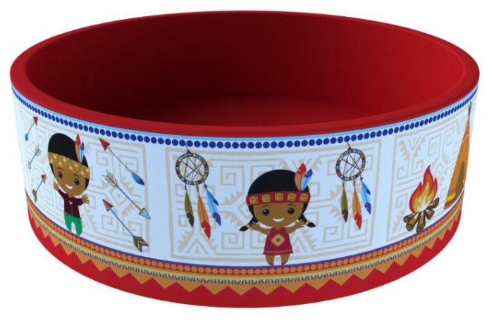 Детский бассейн ROMANA Индейцы (ДМФ-МК-02.52.02)