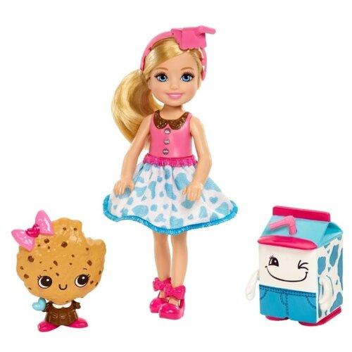 Купить Кукла Barbie Челси и сладости, в голубой юбке, FDJ11, Куклы и пупсы