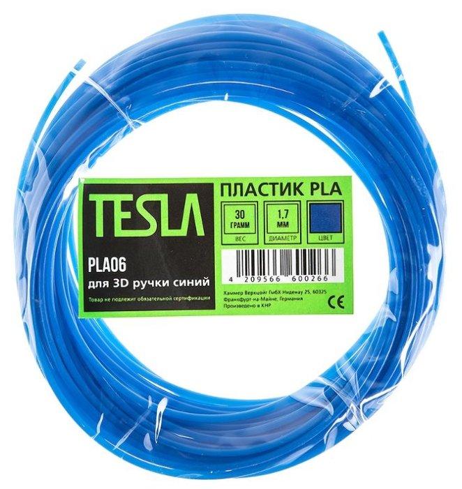 PLA пруток TESLA 1.70 мм синий