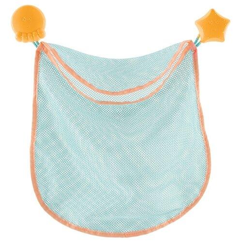Купить Сетка Bebe confort для ванной 28х30 см (3107201200) голубой, Хранение игрушек
