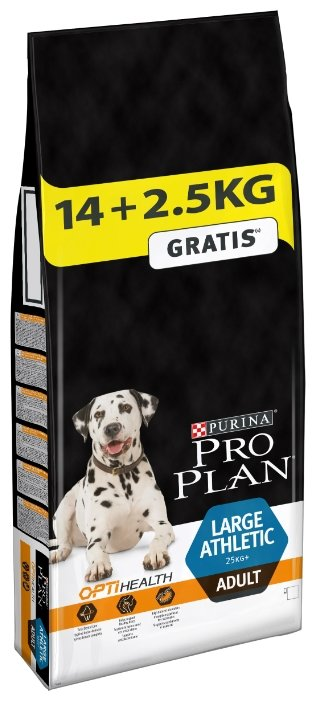 Корм для собак Purina Pro Plan Large Athletic Adult сanine Chicken with Rice dry