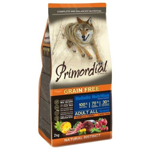 Корм для собак Primordial (2 кг) Adult All Breed Ягненок, тунецКорма для собак<br>
