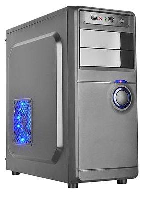Компьютерный корпус BOOST 912BU w/o PSU Black/blue