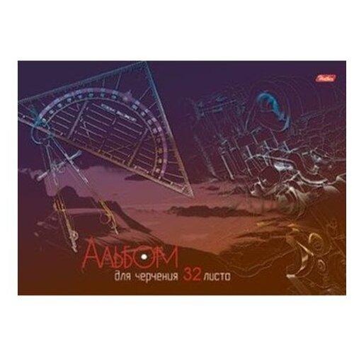 Альбом для черчения Hatber Детали 29.7 х 21 см (A4), 190 г/м², 32 л. набор тетрадей hatber классика 12т5в2