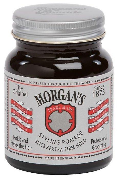 Morgan's Помада Styling Pomade Slick Extra Firm Hold, экстрасильная фиксация
