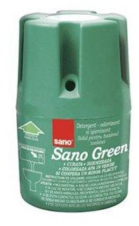 Sano мыло для сливного бака Green