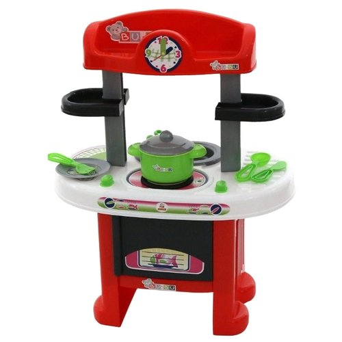 цена на Кухня Palau Toys BU-BU №9 44570 красно-черный