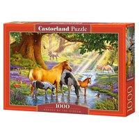 Пазл Castorland Horses by the Stream (C-103737) , элементов: 1000 шт.