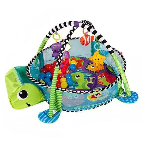 Купить Развивающий коврик Funkids Turtle Gym (88967), Развивающие коврики