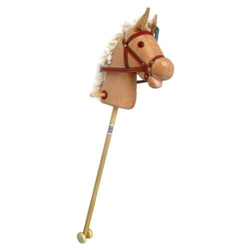 Купить Лошадка на палке Shantou Gepai Лошадка (61840) бежевый, Каталки и качалки