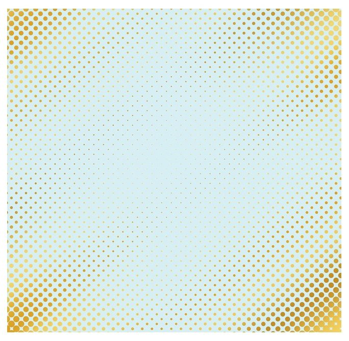 Бумага Арт Узор 30.5x30.5 см, 1 лист, Один миг