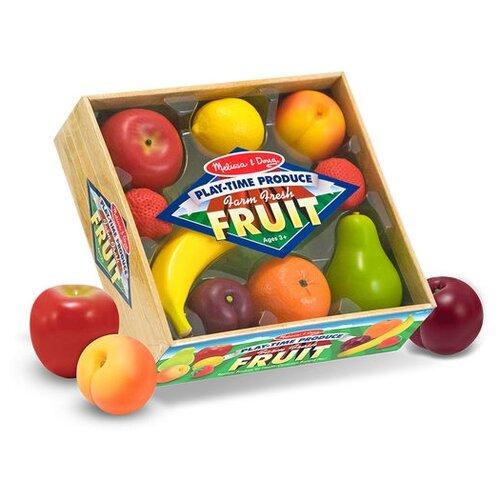 Купить Набор продуктов Melissa & Doug Produce Fruit 4082 разноцветный, Игрушечная еда и посуда