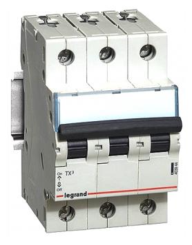 Автоматический выключатель Legrand TX3 3P (C) 6kA