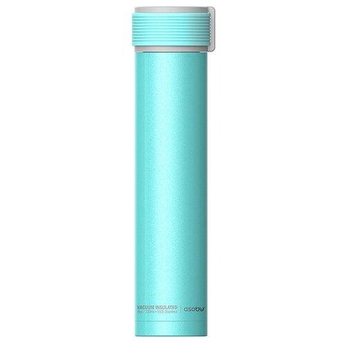 Термобутылка Asobu Skinny mini, 0.23 л бирюзовый