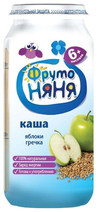 Каша ФрутоНяня безмолочная гречневая с яблоком (с 6 месяцев) 250 г
