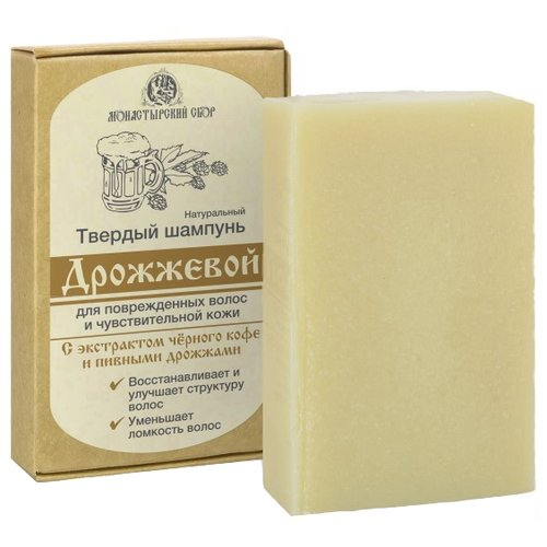 Kleona твердый шампунь Дрожжевой, 80 гр
