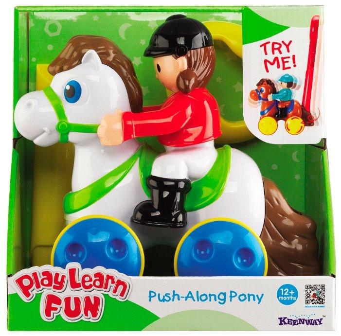 Каталка-игрушка Keenway Жокей на лошадке (32654) со звуковыми эффектами