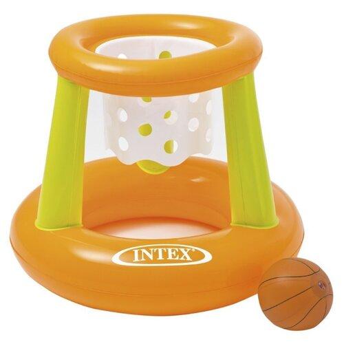 Комплект для игры в баскетбол Intex 58504 зеленый/оранжевый intex ремонтный комплект intex