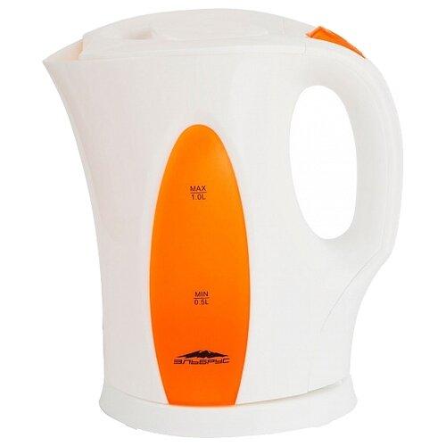 Чайник Эльбрус Эльбрус-3, белый/оранжевый
