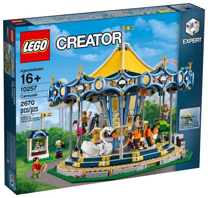 Электромеханический конструктор LEGO Creator 10257 Карусель