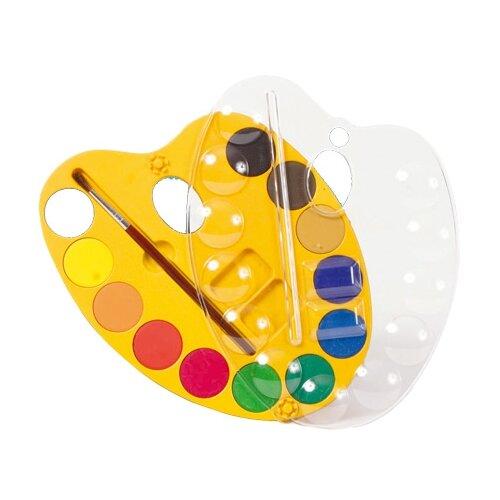 Купить Crayola Акварельные краски 12 цветов, с кистью (98434), Краски