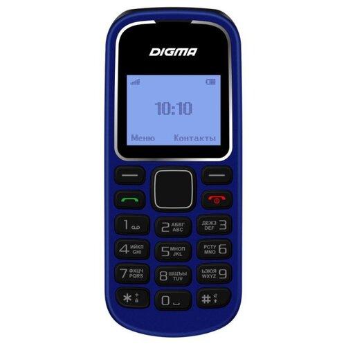 Телефон Digma LINX A105 2G синий