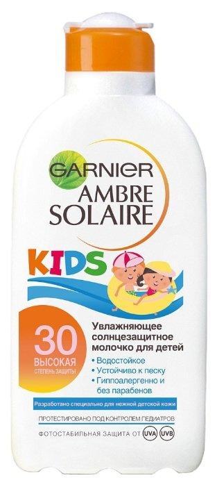 GARNIER Ambre Solaire детское солнцезащитное увлажняющее молочко SPF 30