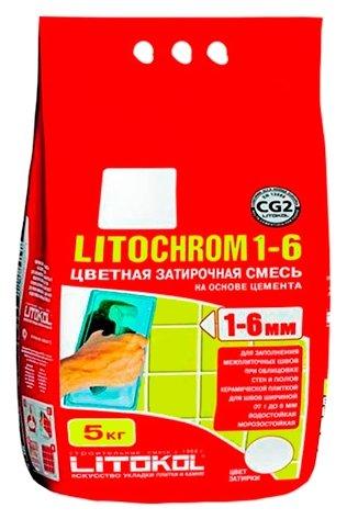 Затирка Litokol Litochrom 1-6 5 кг