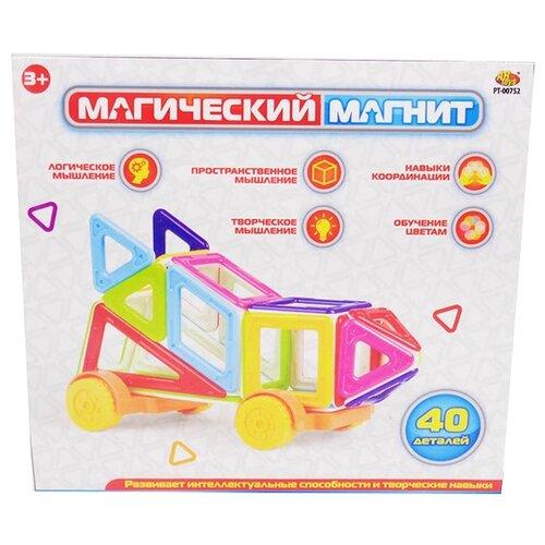 Магнитный конструктор ABtoys Магический магнит PT-00752 магнитный конструктор abtoys магический магнит с магнитом внутри 32 детали pt 00863