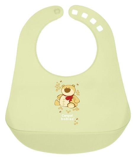 Canpol Babies Нагрудник Colourful plastic bib